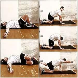 Ejercicios de rehabilitación de espalda