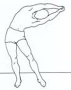 estiramiento del dorsal ancho