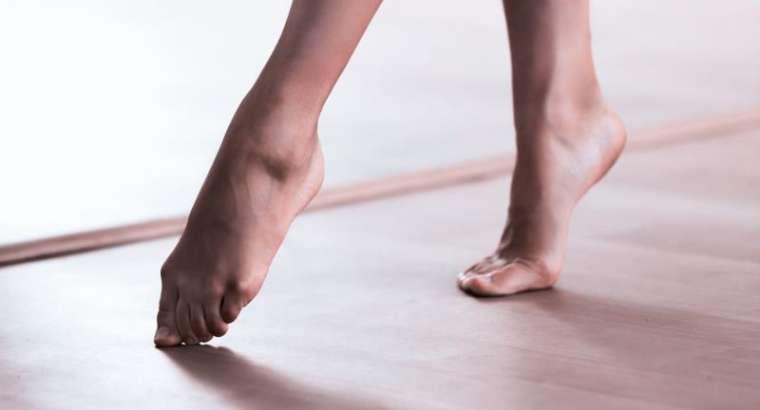 Caminar de puntillas