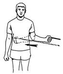 rotación interna de hombro