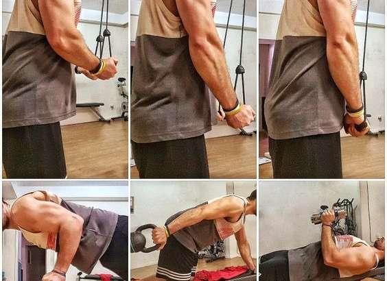 Ejercicios triceps braquial