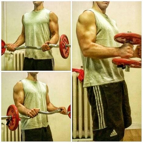 ejercicios biceps braquial