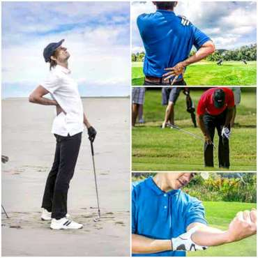 Fisioterapia en golf